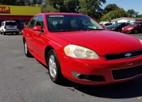 Chevrolet Impala 2010 Red