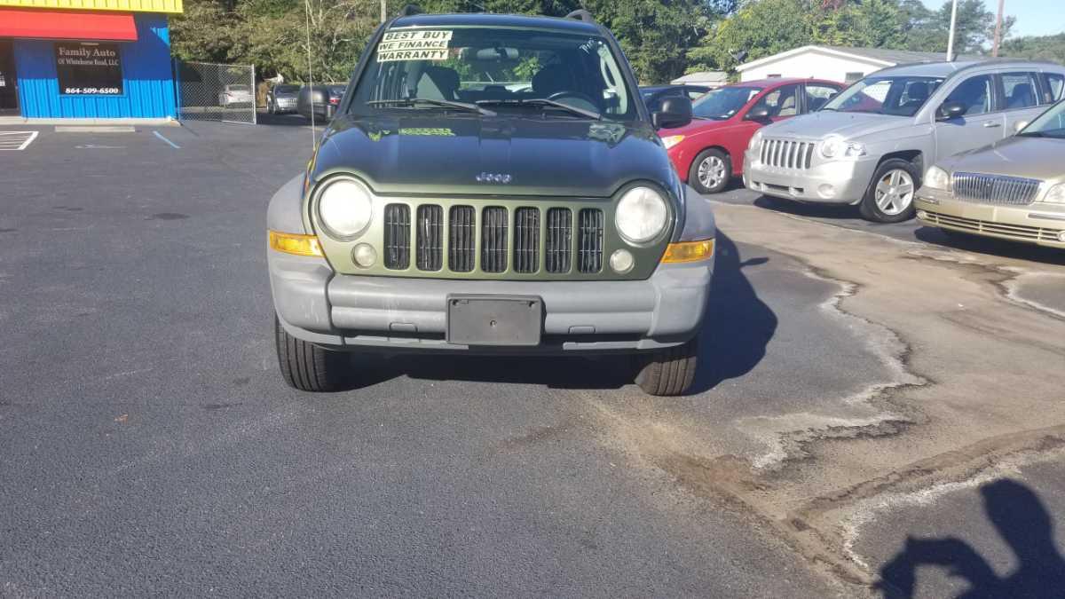 Jeep Liberty 2007 Green