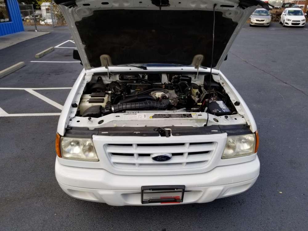 Ford Ranger 2001 White