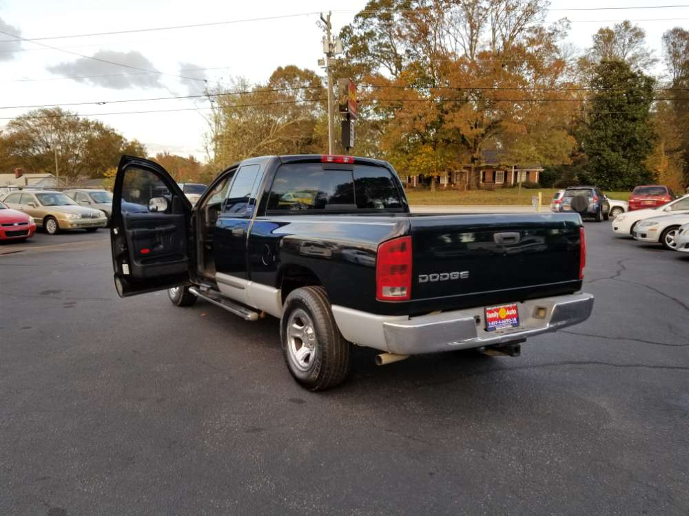 Dodge Ram 1500 2002 Black