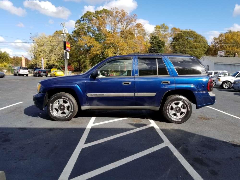 Chevrolet Trailblazer 2003 Blue