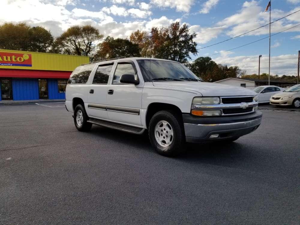 Chevrolet Tahoe 2004 White