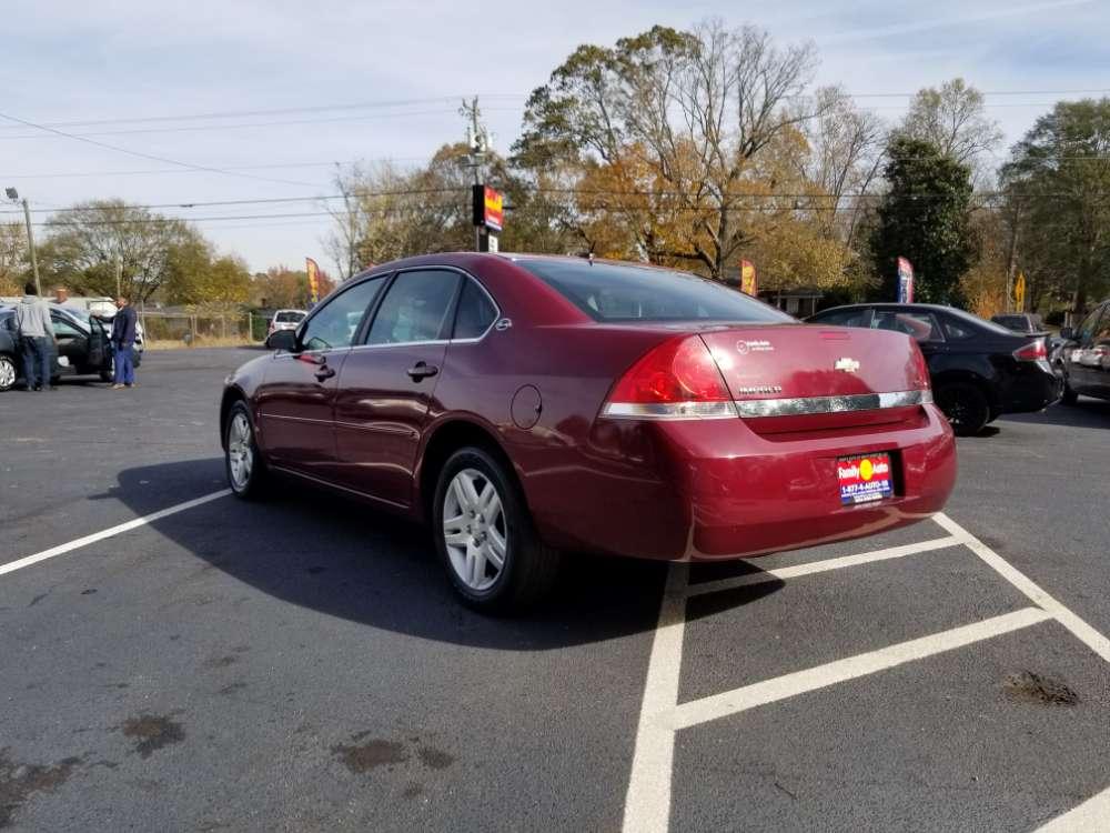Chevrolet Impala 2006 Burgandy