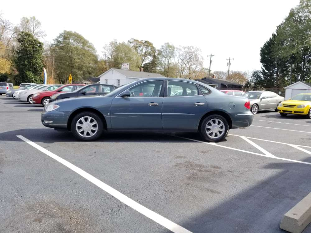 Buick Lacrosse 2007 Blue