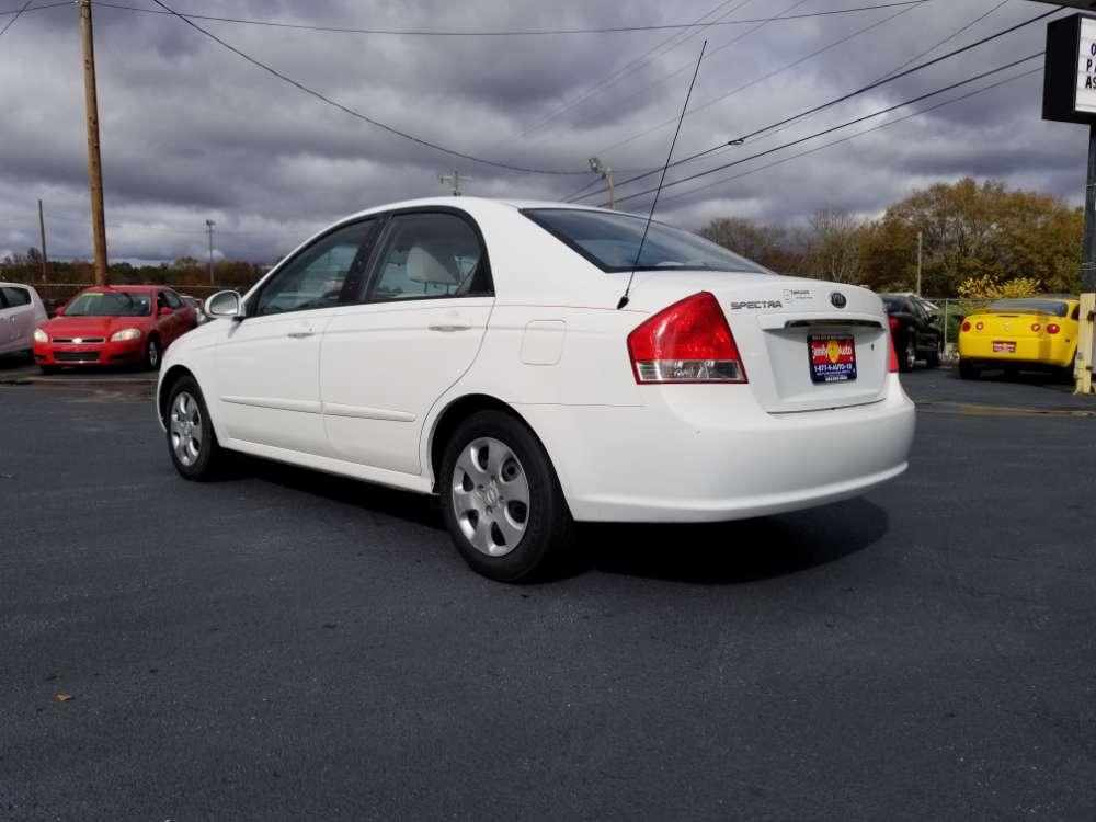 Kia Spectra 2008 White