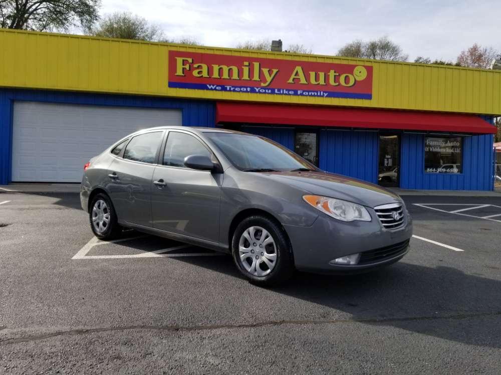 Hyundai Elantra 2010 Gray