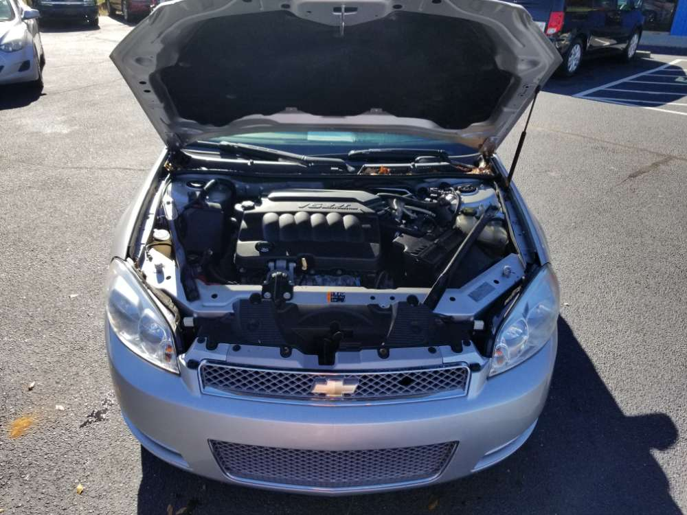 Chevrolet Impala 2012 Silver