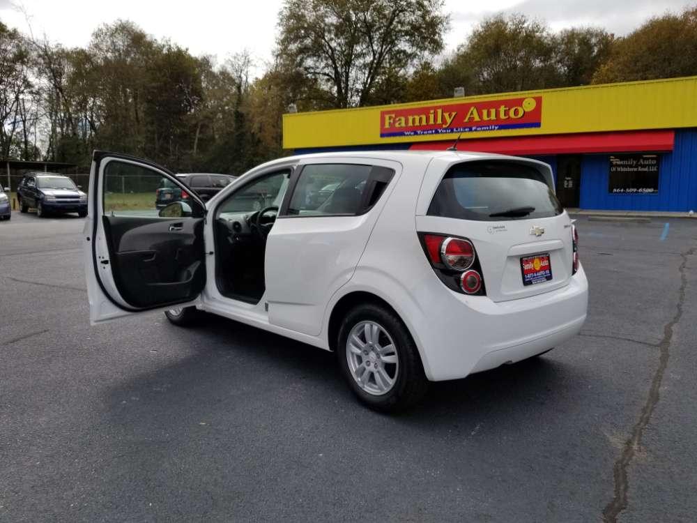 Chevrolet Sonic 2012 White