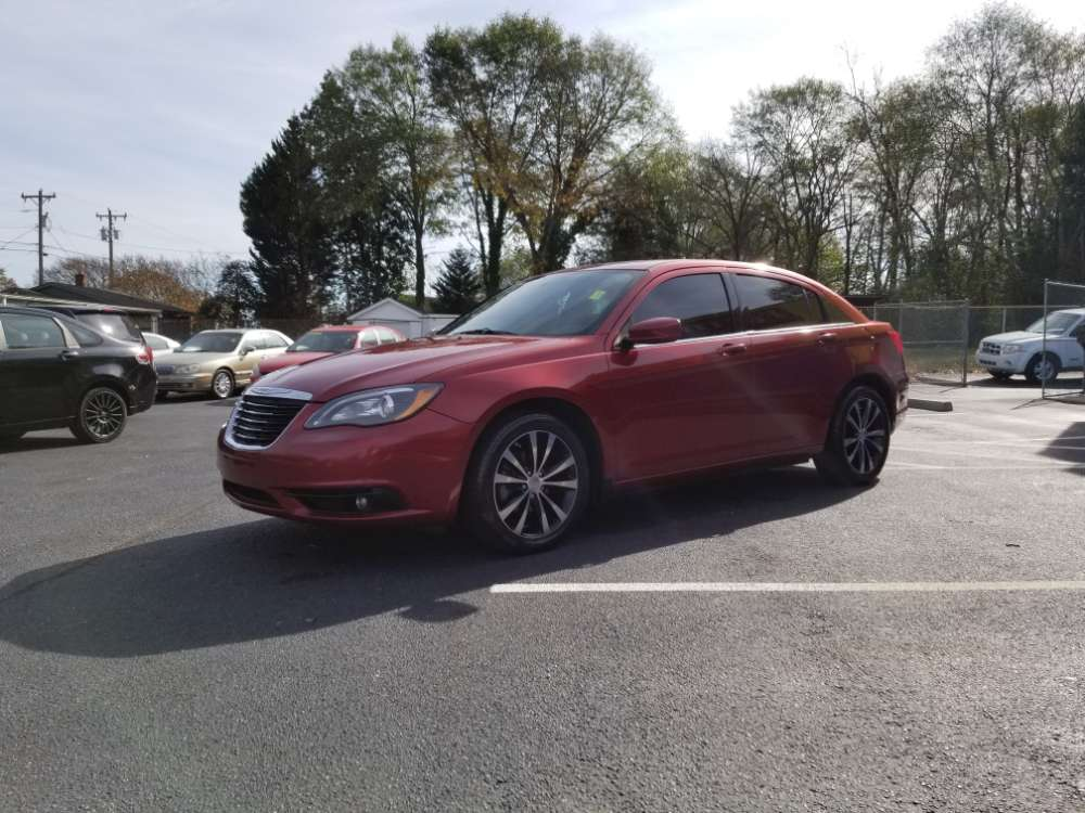 Chrysler 200 2014 Burgandy