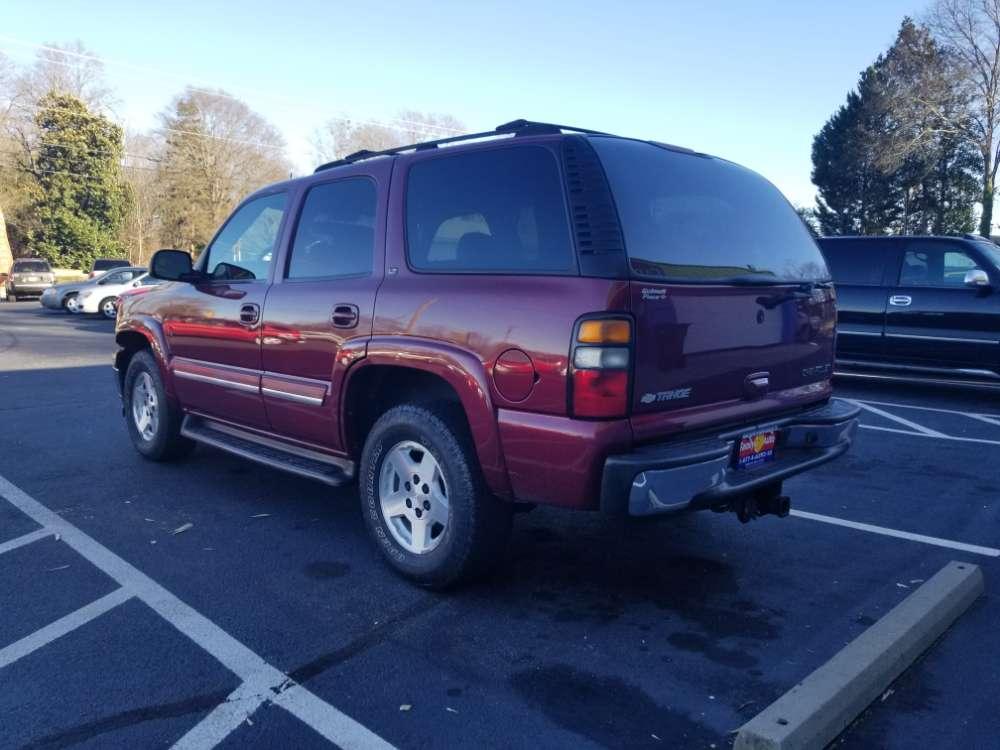 Chevrolet Tahoe 2005 Burgandy