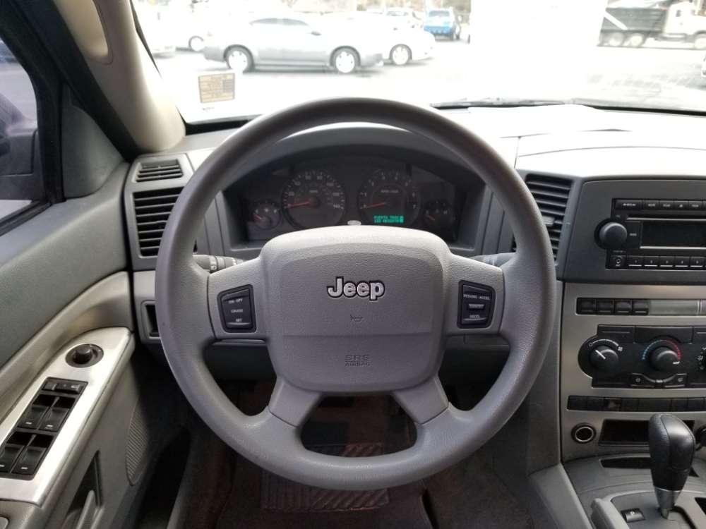 Jeep Grand Cherokee 2006 Silver