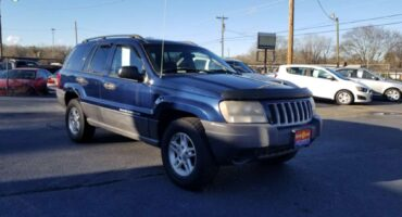 Jeep Grand Cherokee 2004 Blue