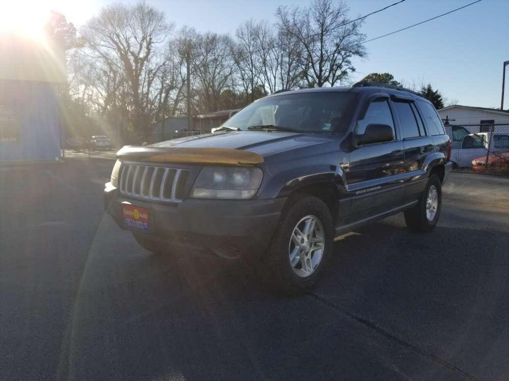 Jeep Grand Cherokee 2004 Blue