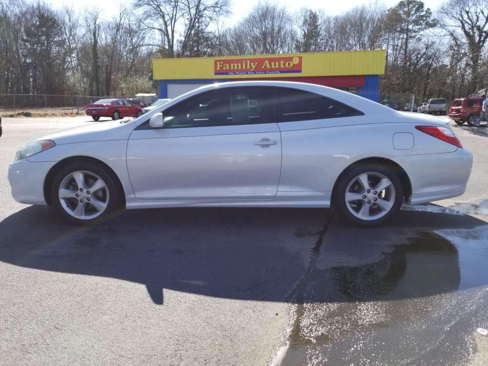 Toyota Camry Solara 2005 White