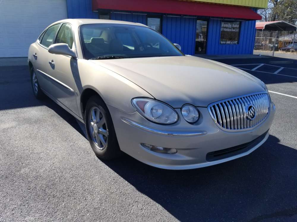 Buick LaCrosse 2008 Gold