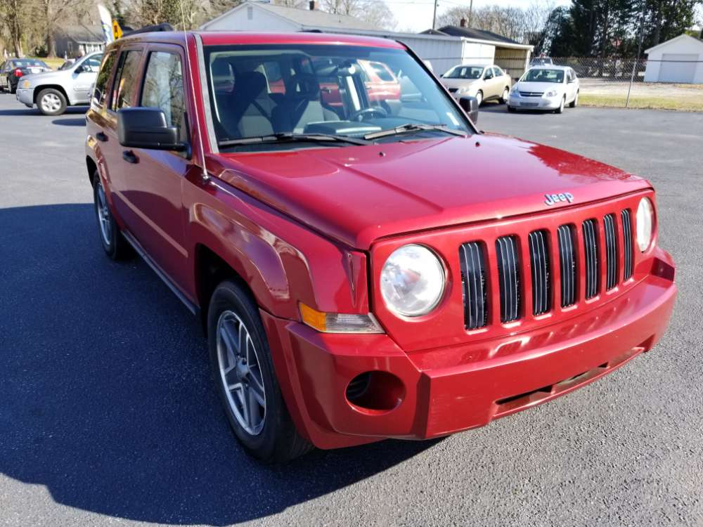 Jeep Patriot 2008 Red