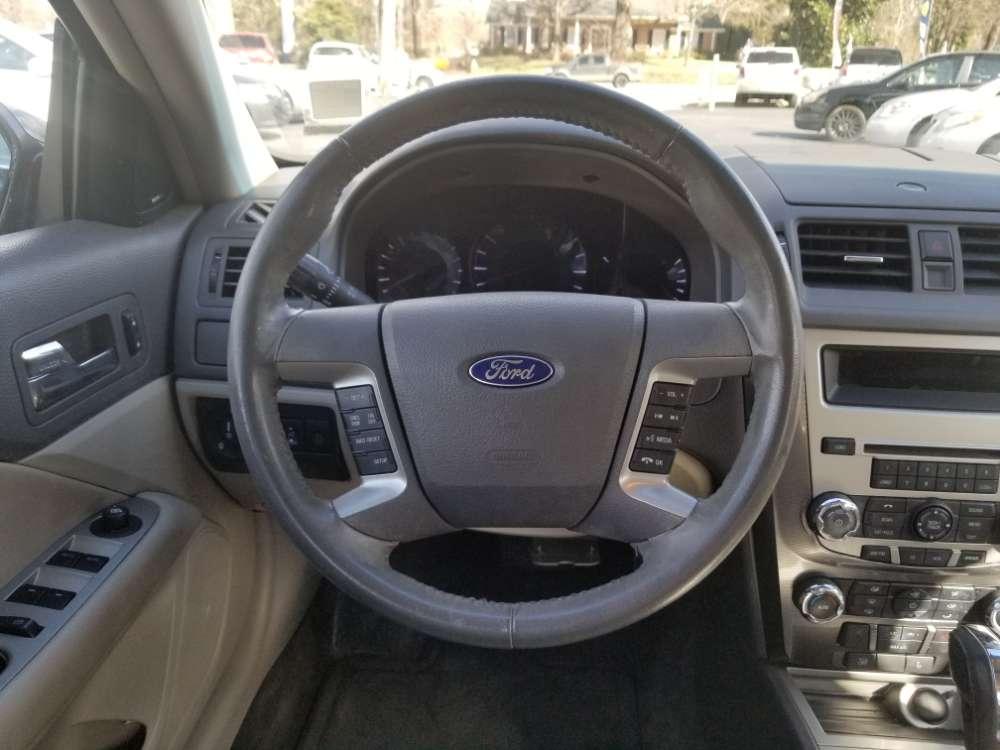 Ford Fusion 2012 Black