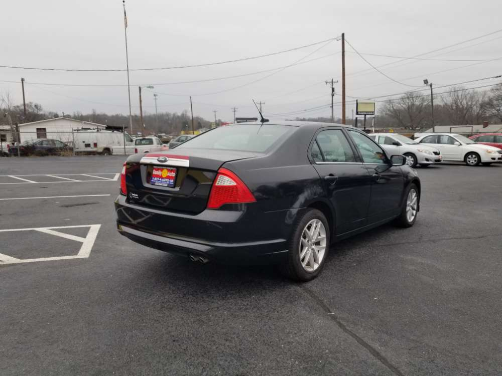 Ford Fusion 2012 Black