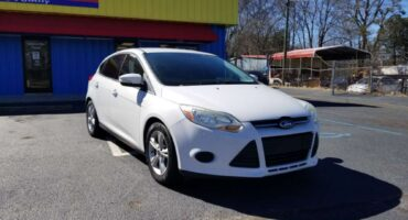 Ford Focus 2014 White