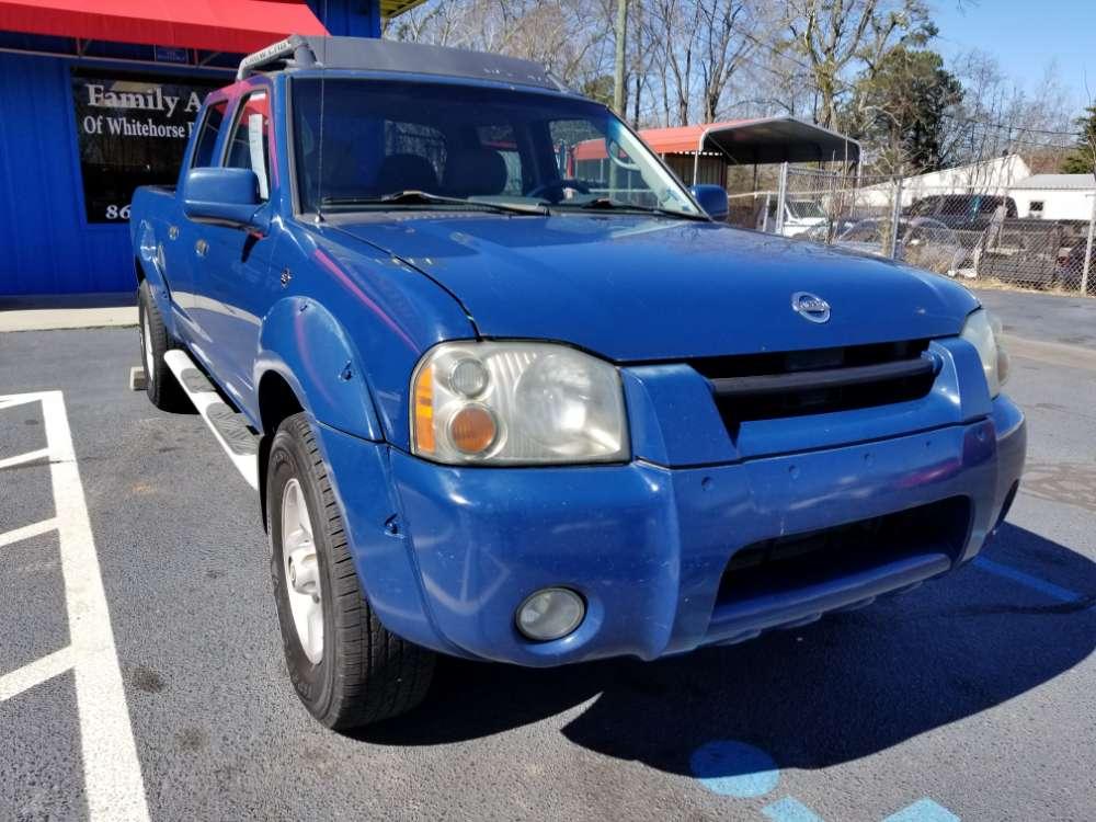 Nissan Frontier 2002 Blue