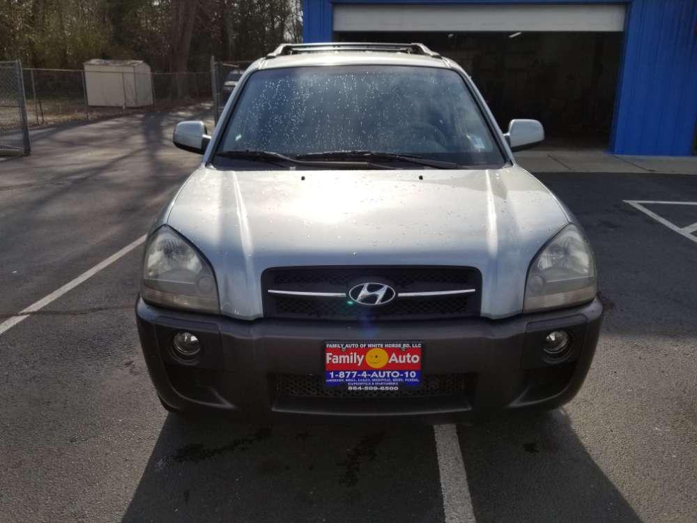 Hyundai Tucson 2005 Green