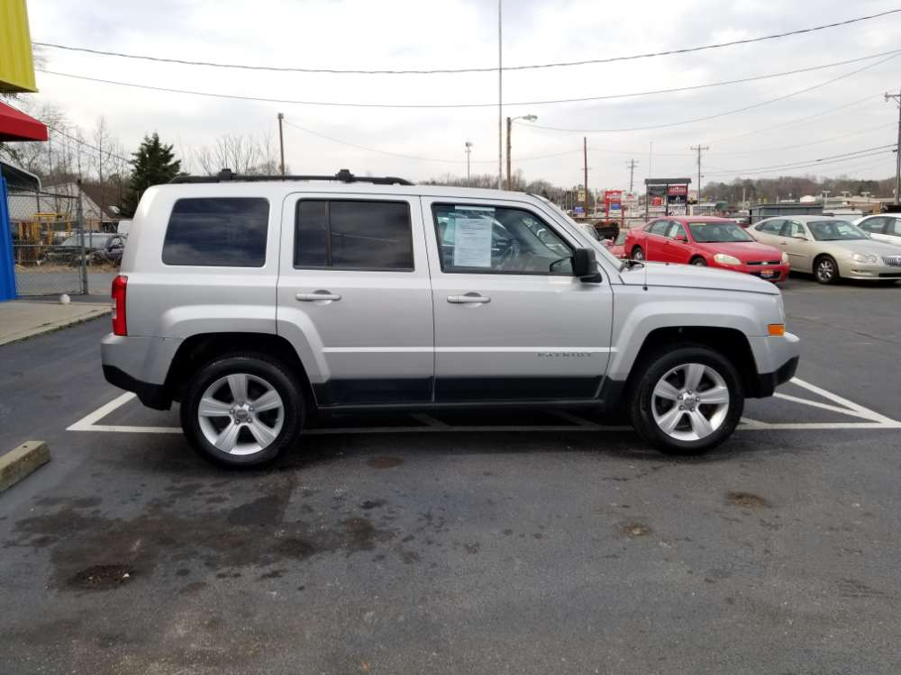 Jeep Patriot 2011 Silver