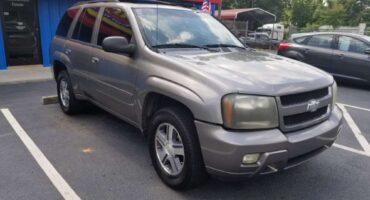 Chevrolet Trailblazer 2008 Grey