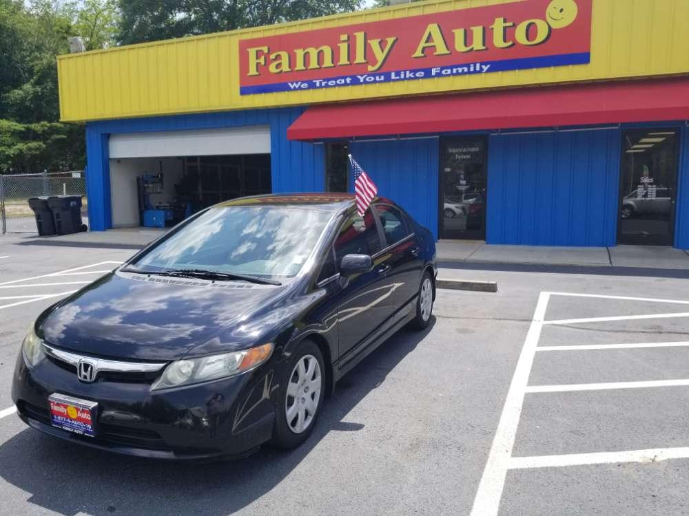 Honda Civic 2008 Black