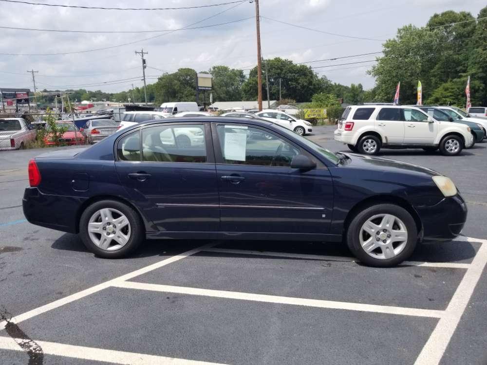 Chevrolet Malibu 2006 Blue