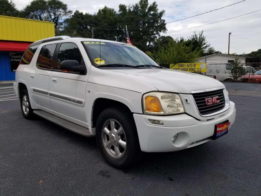GMC Envoy 2004 White