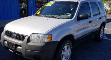 Ford Escape 2002 Silver